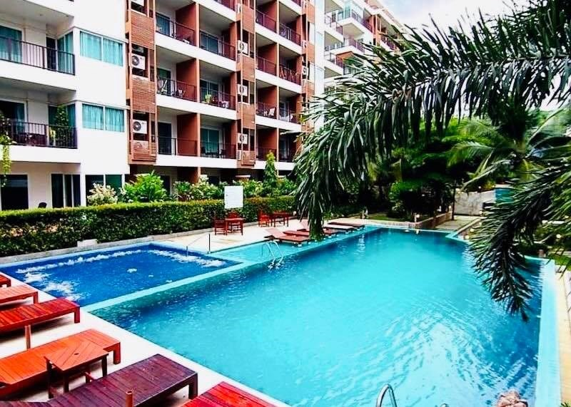 Diamond Suites Resort Condo - 1 Bedroom For Sale  - Condominium - Thappraya -