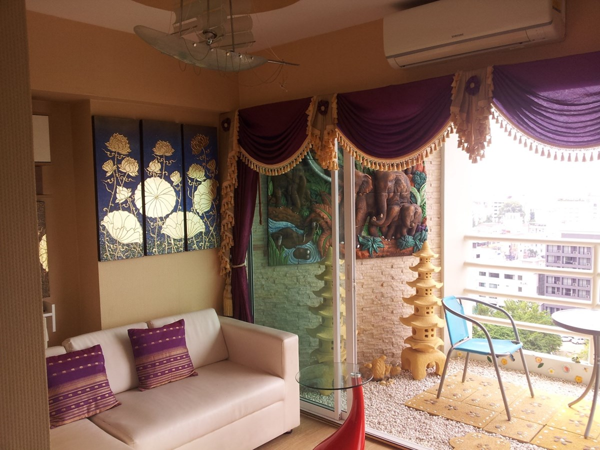View Talay 6 - 1BR for sale - Condominium - Pattaya Central -